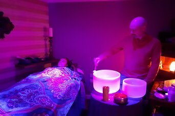 spa day sound healing